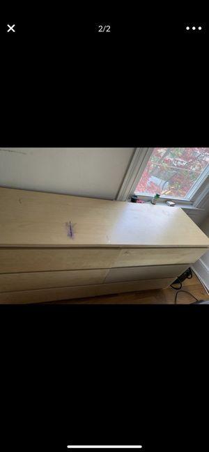 IKEA dresser in tan for Sale in Washington, DC