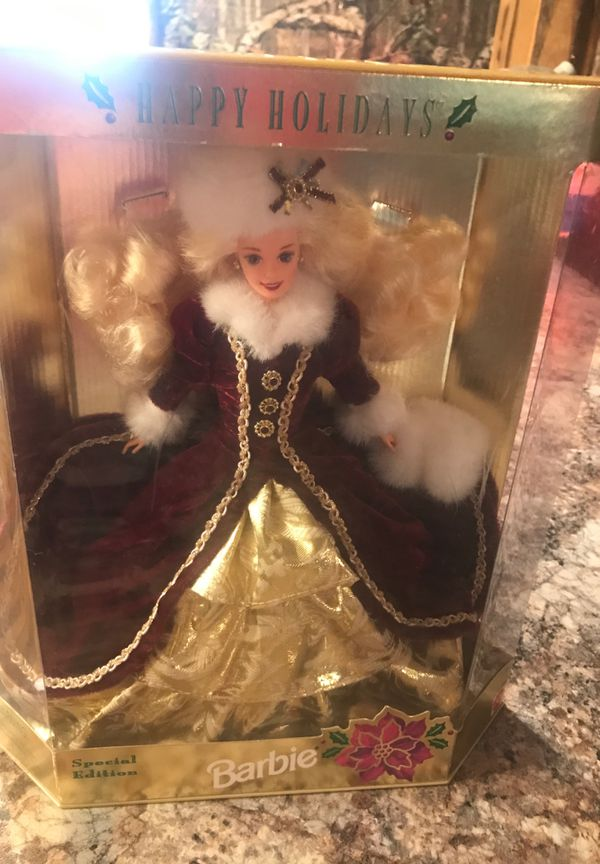 1996 holiday Barbie