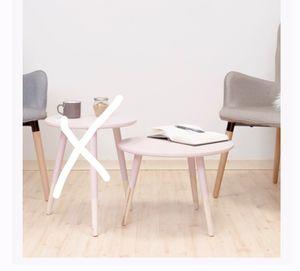 Coffee table oak white mini desk. for Sale in Reston, VA