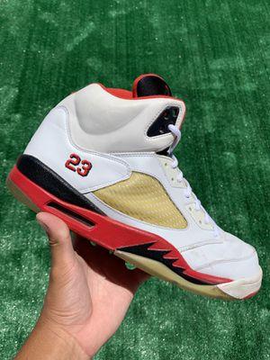 "AIR JORDAN 5 RETRO ""FIRE RED BLACK TONGUE"" 2006 (Size 13, Men's) for Sale in Buckeye, AZ"