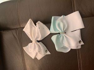 2 Jojo Siwa bows for Sale in Miami, FL