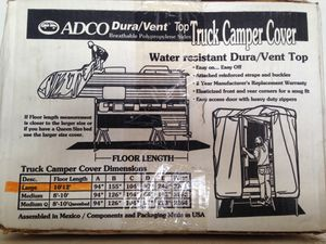 ADCO DURA VENT TRUCK CAMPER COVER for Sale in Queen Creek, AZ