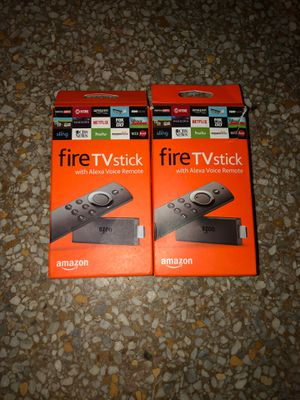 Two Amazon FireSticks fully program. for Sale in Lauderdale Lakes, FL