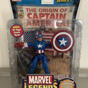 Captain America Mint Toy for Sale in Annandale, VA