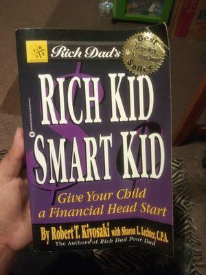 Rich dad smart kid book for Sale in Moreno Valley, CA