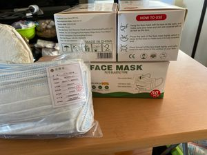 Face mask 50 pcs for Sale in Los Angeles, CA