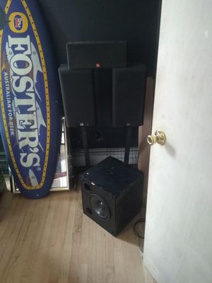 JBL surround sound speakers for Sale in East Providence, RI