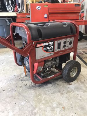 Coleman Powermate 5000 Generator for Sale in Seminole, FL