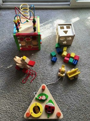 Wooden toys for baby 😊 for Sale in Everett, WA