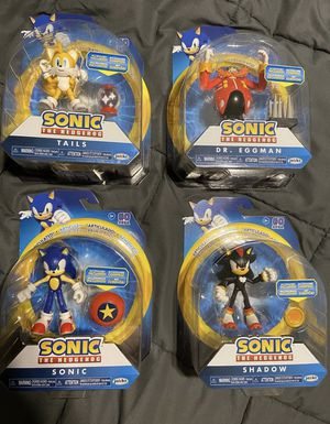 Sonic The Hedgehog Set Jakks Pacific for Sale in Long Beach, CA