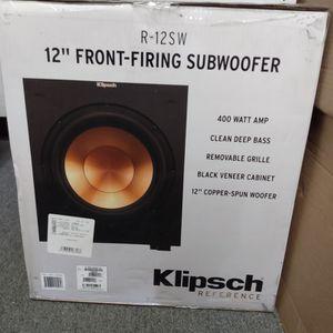 "Klipsch 12"" Front Firing Subwoofer for Sale in San Diego, CA"