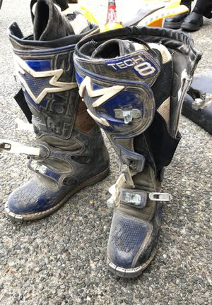 Dirt bike boots for Sale in Maple Valley, WA