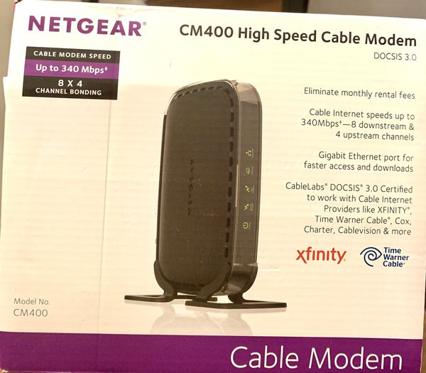 Netgear CM400 High Speed Cable Modem