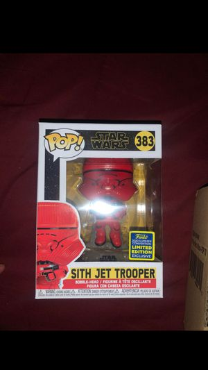 Sith Jet Trooper funkopop for Sale in Colton, CA