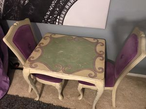 Custom painted very sturdy kids desk for Sale in Phoenix, AZ