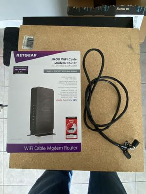 Netgear router for Sale in Midwest City, OK