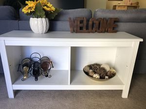 White IKEA Table/TV stand for Sale in San Diego, CA