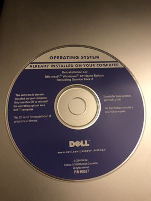 Microsoft Windows XP Home Recovery Disc for Sale in West Palm Beach, FL