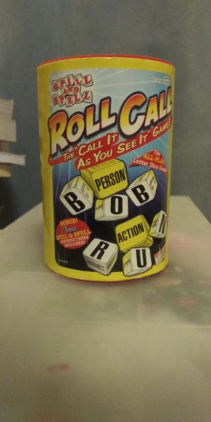 Roll Call Game - Like new! for Sale in Sunnyvale, CA