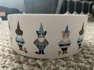 Holiday Dog Bowl - Medium for Sale in Nolensville, TN