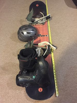 Snowboard with Brand new k2 9.5 boots for Sale for sale  Brooklyn, NY