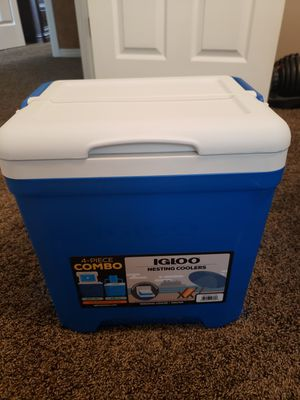 Igloo 4pc Nesting Coolers, NEW for Sale in West Jordan, UT