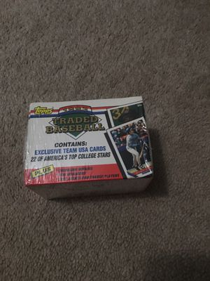 Baseball cards 1993 traded set for Sale in Lynbrook, NY