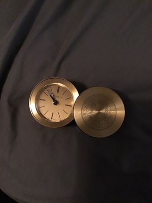 Authentic vintage Tiffany and Co alarm clock for Sale in Sacramento, CA