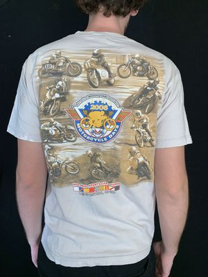 Vintage motorcycle racing t shirt size large for Sale in Phoenix, AZ
