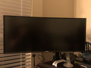 """Samsung 34"""" Ultra-wide 3440 Curved Monitor for Sale in Escondido, CA"""