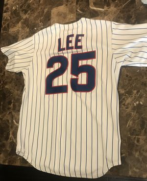 Derick Lee Chicago Cubs mens medium Sewn Jersey for Sale in Sleepy Hollow, IL