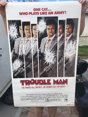 Movie poster 1972 / OBOFFER for Sale in Orlando, FL