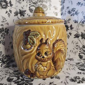 Squirrel Cookie Jar Vintage Kitsch for Sale in Palm Bay, FL