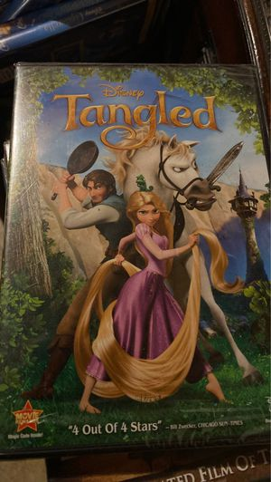 Tangled DVD, new for Sale in Plainfield, IL