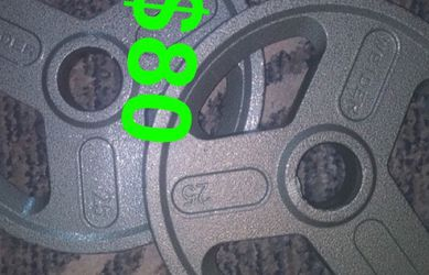 25 Lb Weight plates for Sale in Fresno,  CA