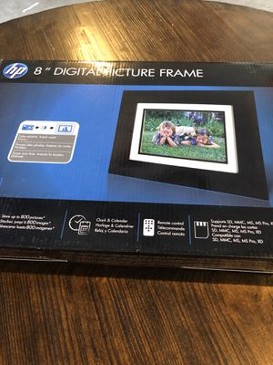 Digital wood picture frame for Sale in Las Vegas, NV