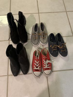 Size 6 & 6 1/2 girls shoes for Sale in Shorewood, IL