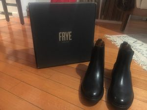 Frye Mens Black Leather Boots - Size 10 for Sale in New York, NY
