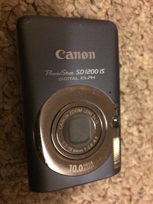 canon powershot sd 1200is digital camera for Sale in Boston, MA