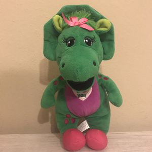 Barney Baby Bop I Love You Singing Plush for Sale in Pearland, TX