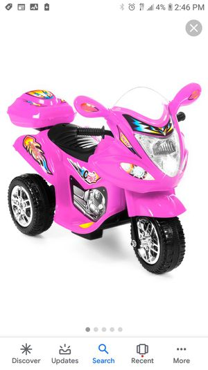 Topbuy 6V Battery Powered Motorcycle Electric Kids Ride On 3 Wheels bicycle for Sale in Norfolk, VA