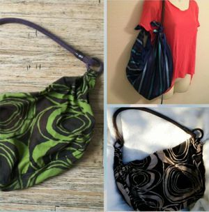 OLD NAVY XLarge cross body Hobo Tote / Beach Bag Faux Leather Coil Handles for Sale in Huntington Beach, CA