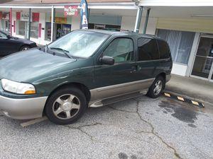 Nissan quest mini van for trade for Sale in Jonesboro, GA