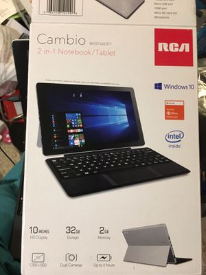 Cambio tablet with Microsoft 10 for Sale in Columbus, OH