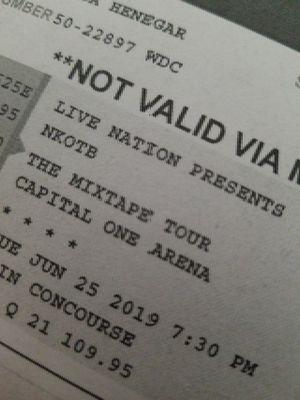 NKOTB tickets for Sale in Delaplane, VA
