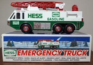 Hess Emergency Fire Collectible Toy Truck for Sale in Marietta, GA