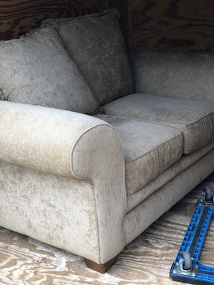 Brown Couch for Sale in Raleigh, NC