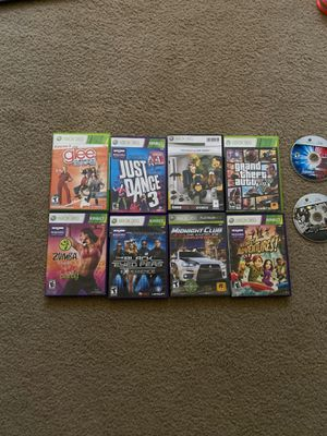 XBOX 360 games for Sale in Madera, CA