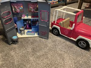 American girls Jeep and camper trailer for Sale in Olympia, WA