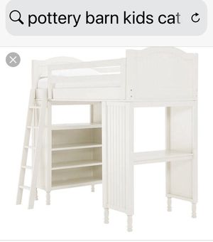Pottery Barn Catalina Loft Bed Twin for Sale in Chicago, IL